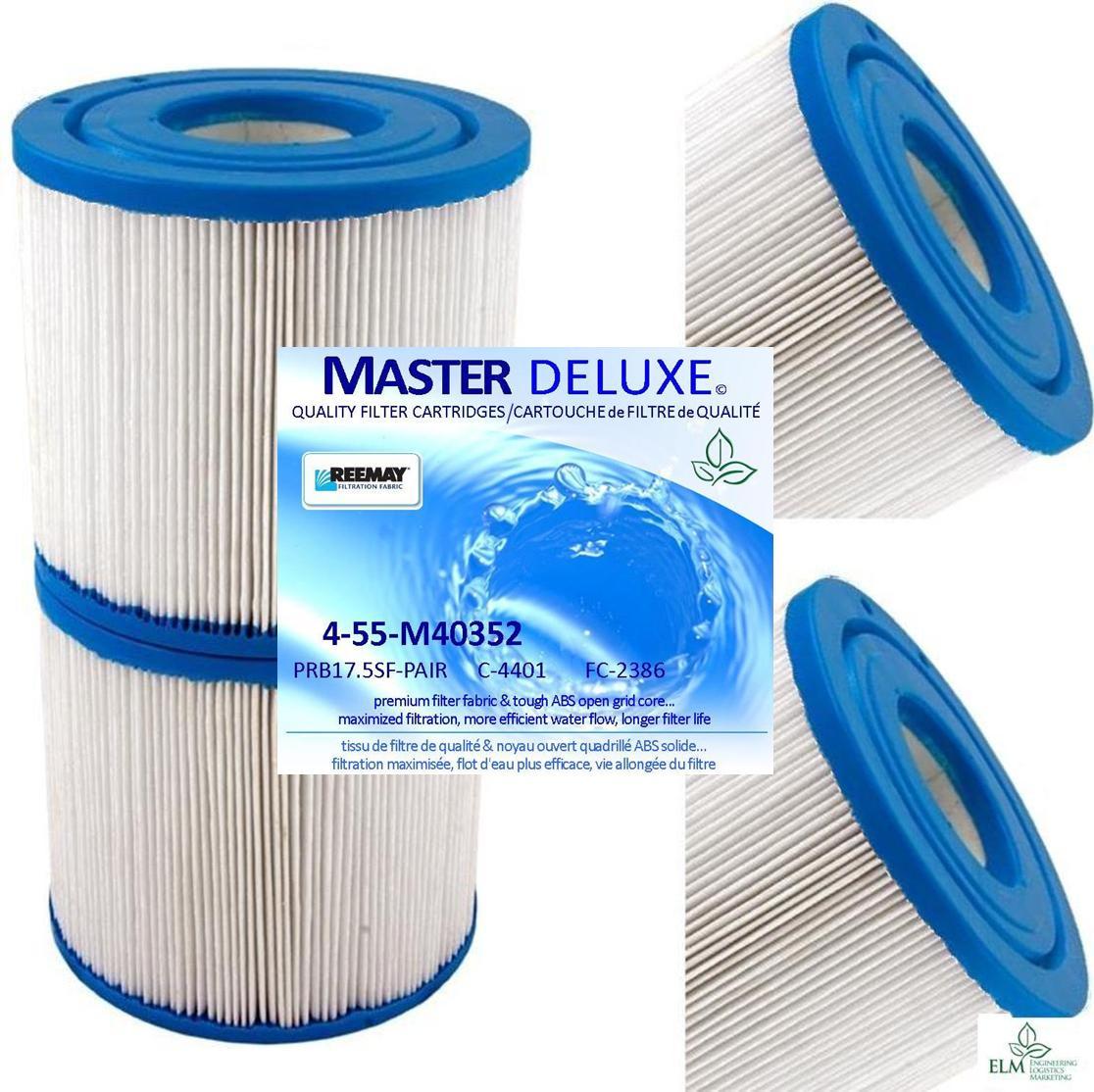 35 sq.ft. Spa Filter PRB17.5SF-PAIR C-4401 FC-2386 M40352