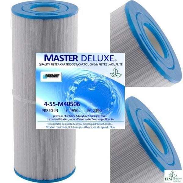 50 sq.ft. Spa Filter PRB50-IN-C-4950 FC-2390 Master Deluxe-4 PACK